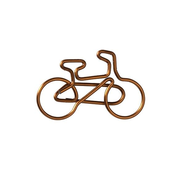 Büroklammer Fahrrad