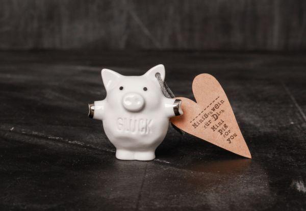 """Mini Schweine """"Glück"""""""