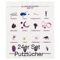 """Putztuch """"Zeichen"""" 24er Set"""