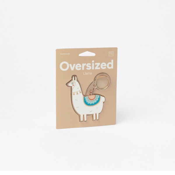 Oversized Llama - Schlüsselanhänger