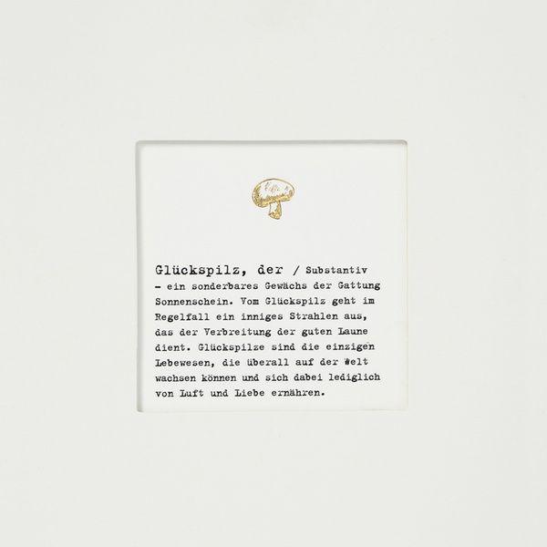 "Passepartoutkarte ""Glückspilz"""