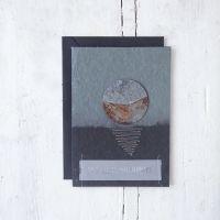"Trauerkarte ""Sonnenuntergang"""