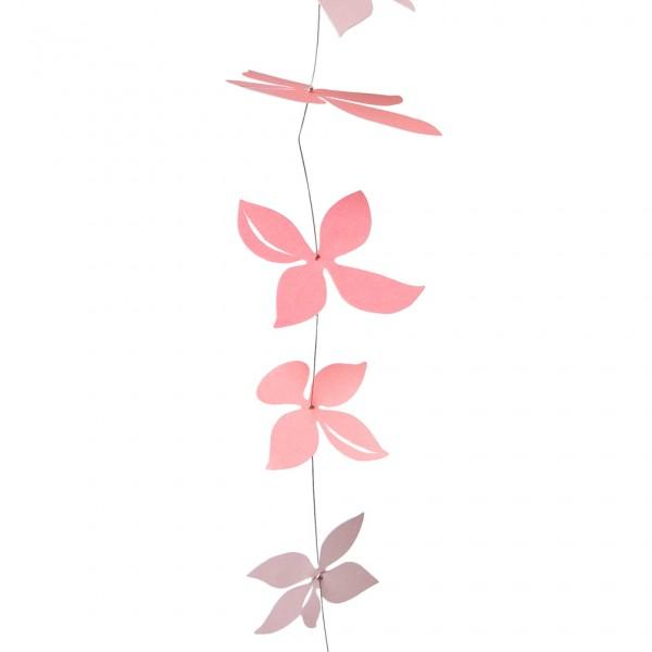 Coral Blossom Kette