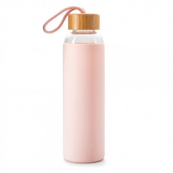 Maneki Neko Trinkflasche, rosa