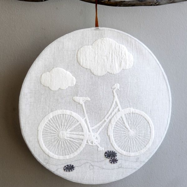 Fensterbild - Fahrrad