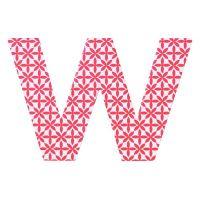 """Paper & Poetry ABC Schachtel """"W"""""""