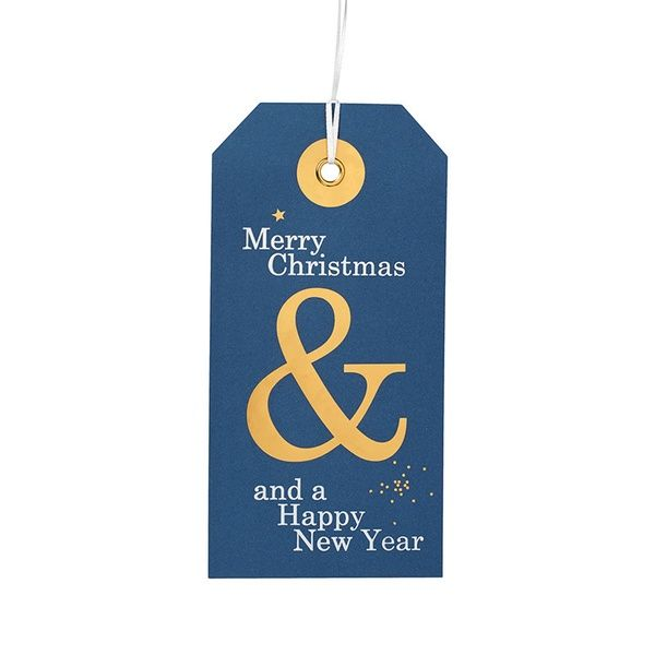 "Hangtag Karte ""Happy New Year"""