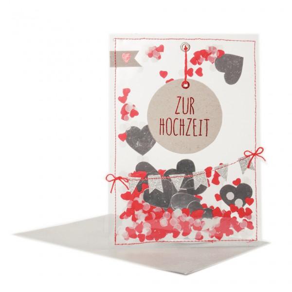 """Party Karte """"Zur Hochzeit"""""""