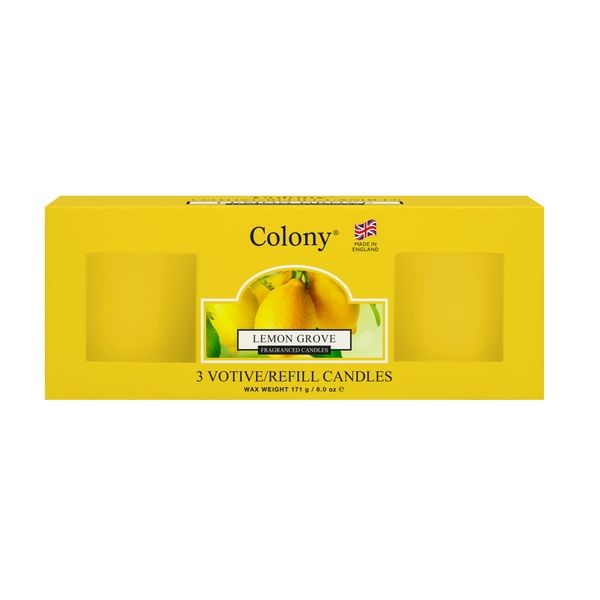 Mini-Votive Refill - Lemon Grove 14 h