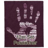"""Putztuch """"Hand"""" 12er Set"""