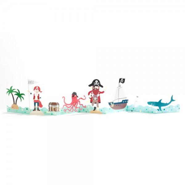"""Kinder Tischgirlande """"Piraten"""""""