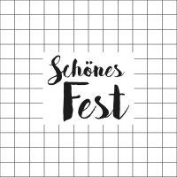"""Servietten """"Schönes Fest"""""""