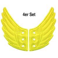 Shwings Neon Gelb 4er Set