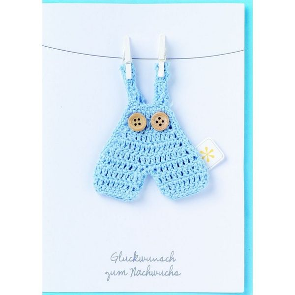 "Baby Welcome Card - ""Nachwuchs"""