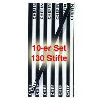 Stiftblock - Chef/Chefin (13 Buntstifte) 10er Set
