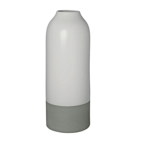 Steingutvase, 40 cm
