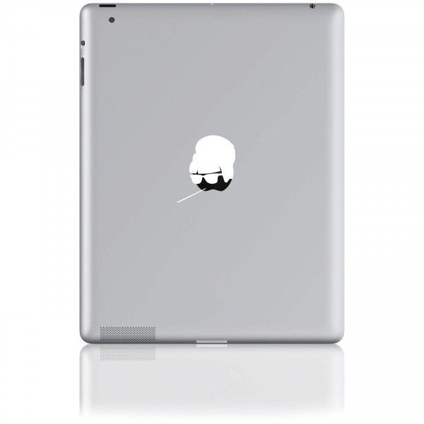 Sticker für Tablets Mr. Watson weiß