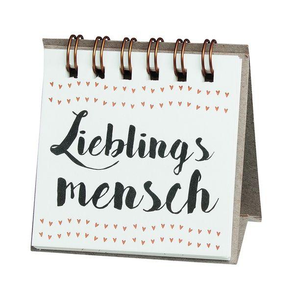 "Kleine Botschaften ""Lieblingsmensch"""