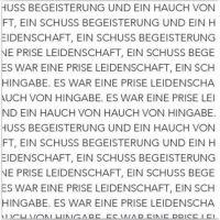 "Serviettenkollektion ""Text"""