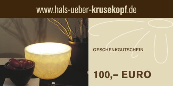 100,00 EUR Gutschein