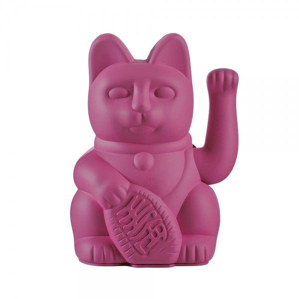 """Winkekatze """"Lucky Cat Purple"""""""