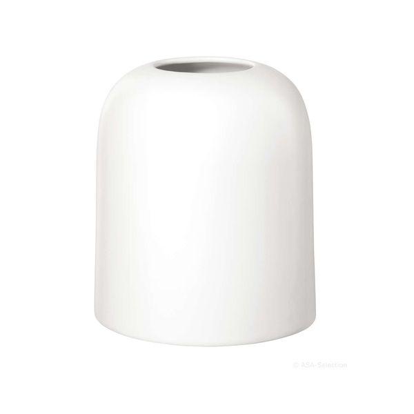 Vase weiß Höhe 14 cm