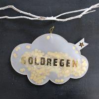 Konfettiregen - Goldregen