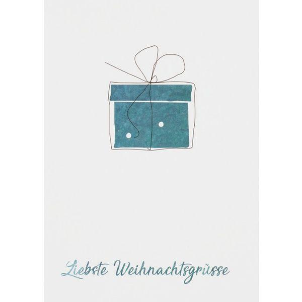 Weihnachtsgrüße An Die Liebste.Weihnachts Aquarell Postkarte Liebste Weihnachtsgrüße