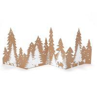 X-Mas Silhouette Bäume / Wald