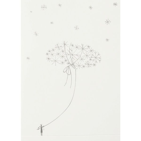 "Winterwunderland Karte ""Wolke"""