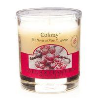 Duftkerze im Glas, Vanilla & Cranberry 35 h