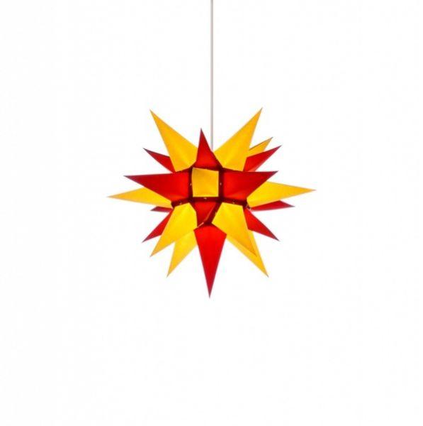 Herrnhuter Stern für Innen, i4 Gelb-Rot 40 cm