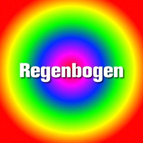 Paper & Poetry Stempelkissen Regenbogenfarben Räder Design