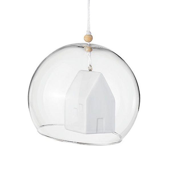 "Ornamentkugel ""Haus"""