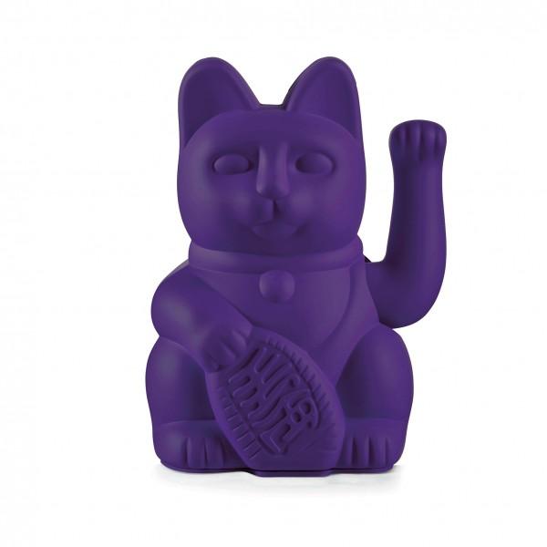 Lucky Cat Violet / Winkekatze / violett