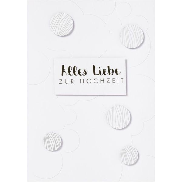 """Punkte Karte """"Alles Liebe zur Hochzeit"""""""