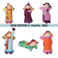 Himmlische Schwestern Mini New Edition 4 - Familie - 6er Set