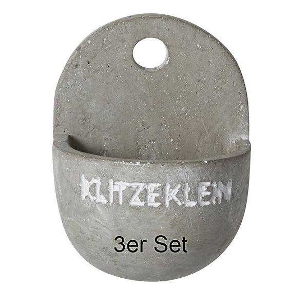 """Hängende Gärten """"Klitzeklein"""" 3er Set"""