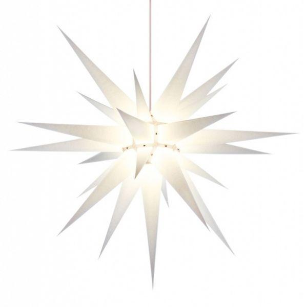 Weihnachtsstern für Innen, Weiß 80 cm