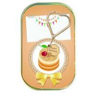 """Kuchen mit Wunderkerze """"Happy Birthday"""" Motiv: Torte mit Schokokirsche"""