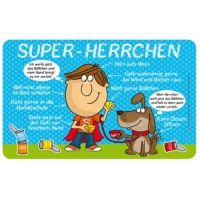 Einfach Super - Super Herrchen - Frühstücksbrettchen