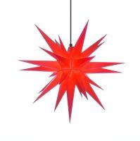 Weihnachtsstern für Außen, Rot 68 cm