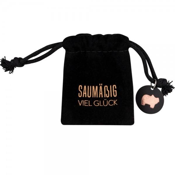 """SILVESTER Glückssäckchen """"Schweinchen"""""""