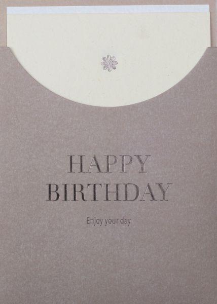 Schuberkarte Happy Birthday