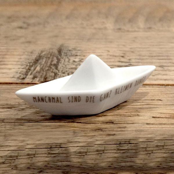 """Kleines Traumboot """"Glück"""""""