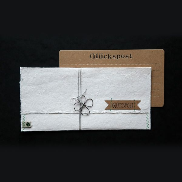 """Papier Post """"Glückspost"""""""