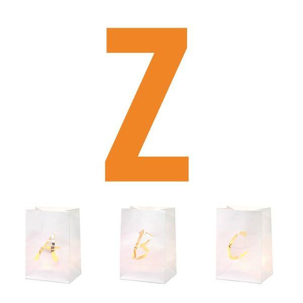 Buchstaben Lichttüte Z