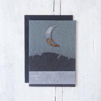 """Trauerkarte """"Mond"""""""