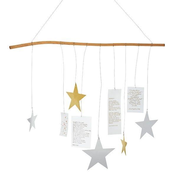 Sternenzweig, gold