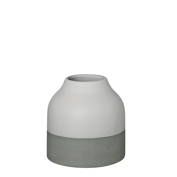 Steingutvase, 15 cm